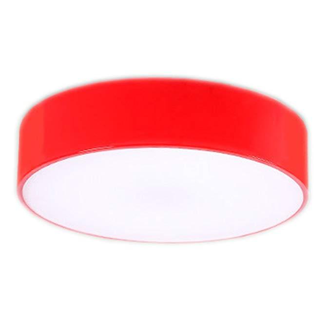 LI LU SHOP LU- Ceiling Dream Collection Contemporary Ceiling Light (Color : Red, Size : 50cm)